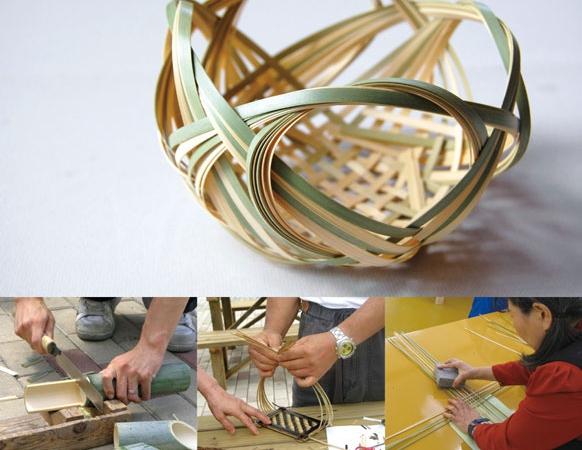 繊細さと温かみが魅力の竹細工